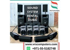 Sound System Rental For Your Event in Dubai
