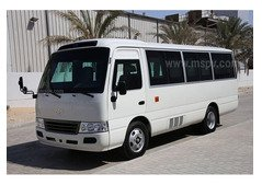 TOYOTA COASTER MINI BUS FOR RENT WITH DRIVER