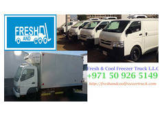 Best Refrigerated Truck and Van Rental Company in Dubai UAE