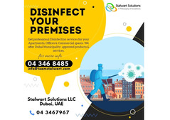 Team Stalwart offer Dubai municipality approved product and service