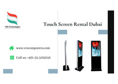 Looking for The Large Touch Screen Kiosk Rentals in Dubai?