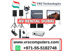 Audio Visual Rental Dubai For The Success Stories