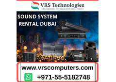What is the Role of Sound System Rental in Events in Dubai