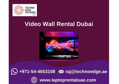 How Renting Video Wall in Dubai?