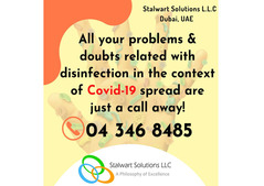 Keeping your Surroundings disinfect to  prevent the spread of Covid-19