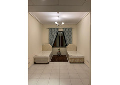 Sheikh Zayed Rd:Masters Bedroom . 1 min from Financial Center MetroS