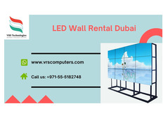 Leading LED Video Wall Rental Suppliers in Dubai