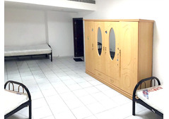 BUR DUBAI-NEXT TO AL FAHIDI MS :ROOM AND BED SPACE AVAILABLE