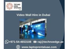 How to Choose Video Wall Hire in Dubai?