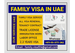 FAMILY VISA SERVICE IN UAE +971-55-377106288