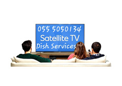 Satellite Dish Iptv Services 0555050134 Installation