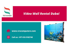 High Quality Digital Video Walls for Rent in Dubai
