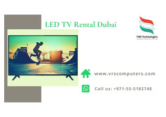 Rent a TV for a Week at VRS Technologies in Dubai