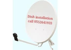 Dish TV fixing jable Ali 0552641933