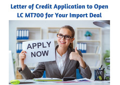 Letter of Credit Application – Apply Now