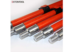 ALUMINUM TEl . ESCOPIC WINDOW CLEANING POLE FROM CHINA MANUFACTURER