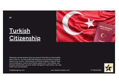 Citizenship By Investment Turkey