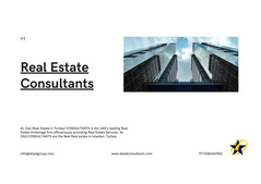 Real Estate Consultants in Dubai