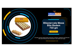 Buy online Bikanervala Mewa Bite Badam 750 gm at lowest price