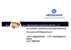 All sewage cleaning service & Blocker Removed