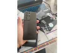 Samsung galaxy s21 Ultra with all accessories for Sale