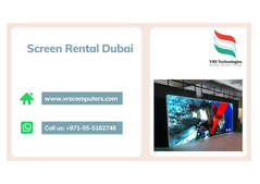 Competitive and Professional LED Screen Rentals in Dubai