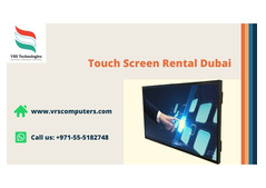 Cost Effective Touch Screen Rental Solutions in Dubai