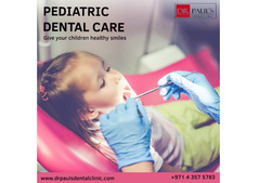 Pediatric dentistry in  dubai