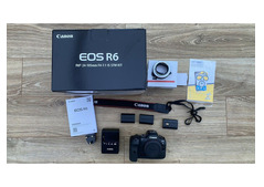 Canon Eos R6 Camera with RF 24-105mm f4-7.1 IS STM KIT
