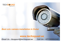 CCTV camera installation Company in Dubai