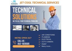 Jet cool technical services for Repair and maintenance