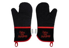 FOR WHOLESALE  Silicone Oven Mitts Heat Resistant 480℉ - Set of 2