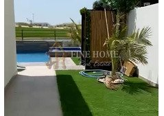 Fully furnished VIP Villa With Golf View in Yas Island