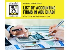 Accounting Firms in Abu Dhabi | Accounting Services