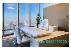 OFFICE SPACE FOR RENT@15K AED, NO DEPOSIT,FREE DEWA & INTERNET