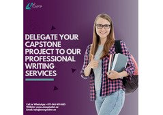 Get your Capstone Project Writing Service by the Experts Writers
