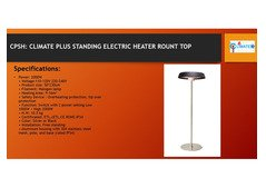 Electric tower pyramid patio heater