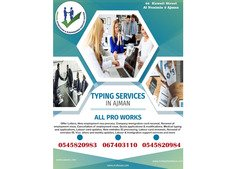 Typing center - We do all types of visa, Emirates ID &amp
