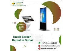 Touch Screen Rentals At Affordable Price in Dubai