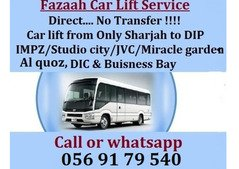 Pick and drop service from Sharjah to Dubai DIP,AL QUOZ,DIC,IMPZ,JVC