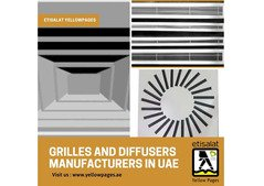 AC Grilles and Diffusers Manufacturers in UAE