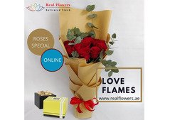 Roses Bouquet with Chocolates Online!!!!