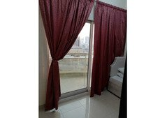 Close Partition Inside Master Bedroom with Private Balcony and Sharing