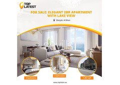 For Sale: Elegant 2BR Apartment with Lake View