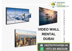 Video Wall Rental At Affordable Price in Dubai