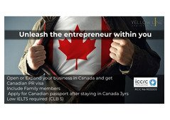 Open or expand your business in Canada and get Canadian P.R. visa