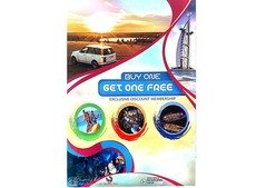 Dubai parks and resorts all these places buy one get one free
