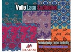 Swiss Voile Cotton Lace Fabric 2019 Simple African | Shadow Dubai