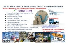 SHIPPING SERVICE MIDDLE EAST AFRCIA CHINA EUROPE DOOR TO DOOR