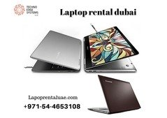 Call us on +971-54-4653108 for any brand of Laptop rental dubai .